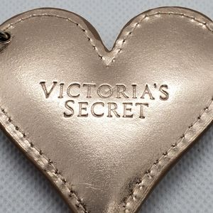 Victoria's Secret Gold Heart Key Chain